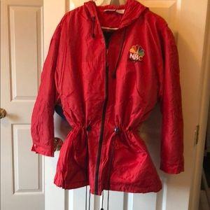 NBC New York red Adirondack jacket